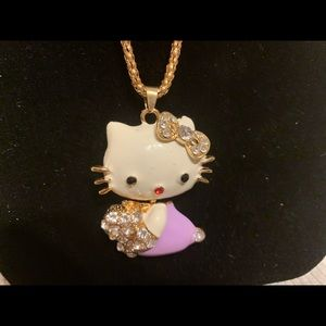 NWT Hello kitty by Betsey Johnson necklace